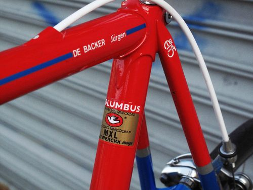Columbus MXL Eddy Merckx Design Bicycle Decal Transfer Sticker Set 12